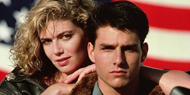 Tom-Cruise-Kelly McGillis-Top-Gun-Paramount
