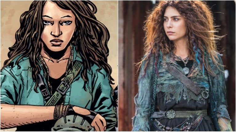 The Walking Dead Season 9 Casts Nadia Hilker As Magna