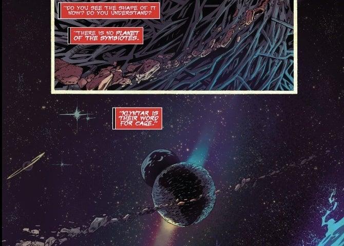 venom klyntar symbiotes