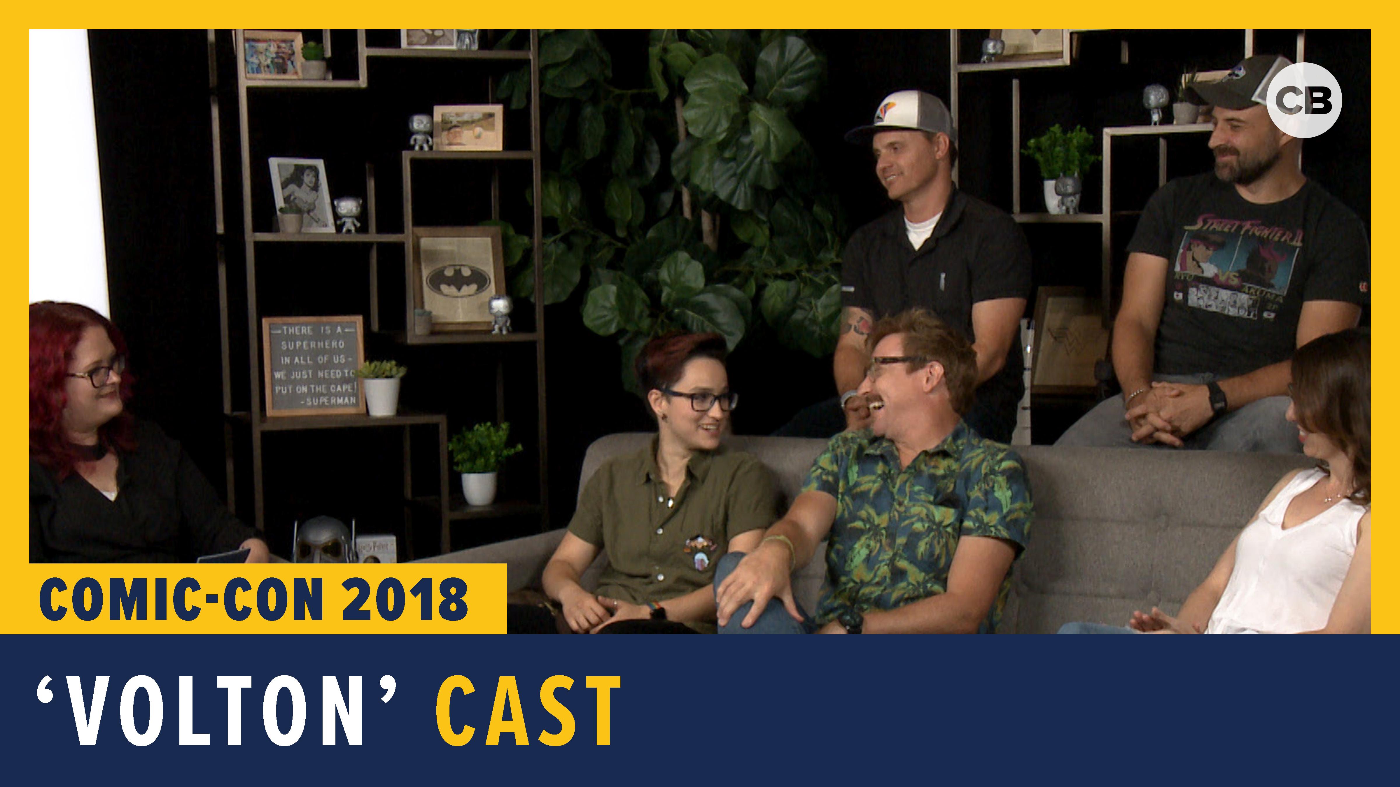 Voltron - SDCC 2018 Exclusive Interview screen capture