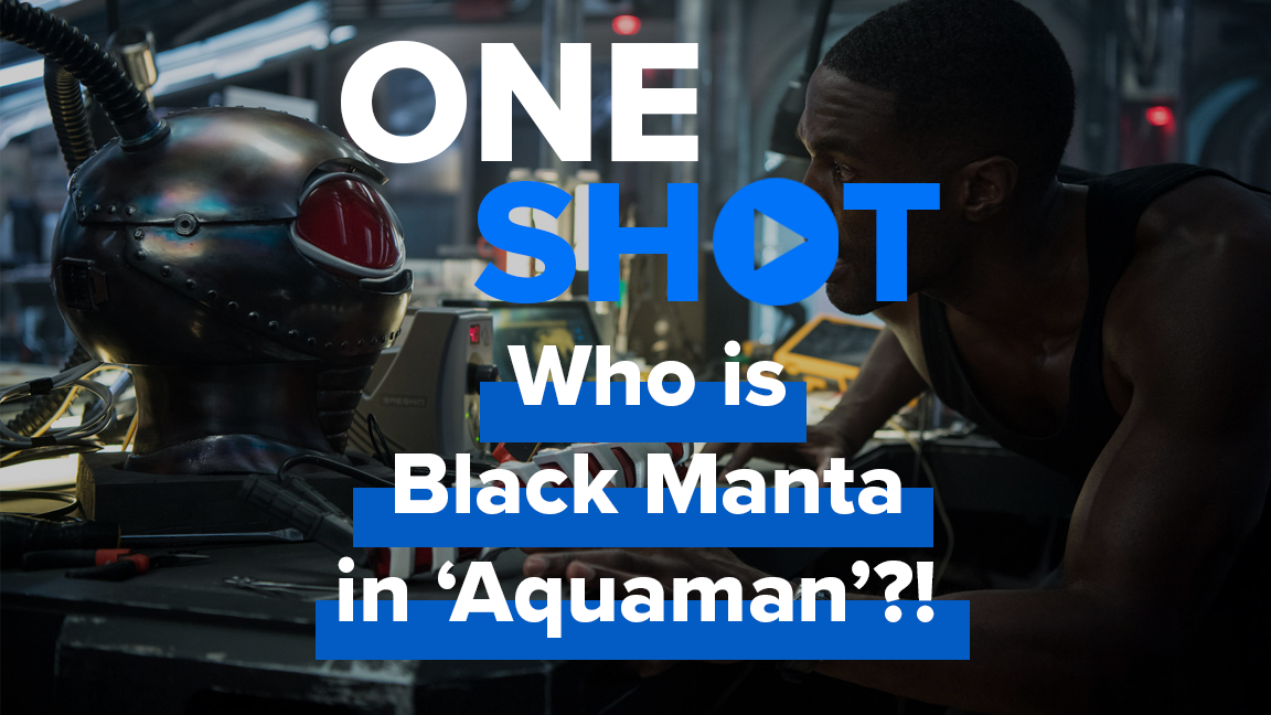 Who is Black Manta in Aquaman?! - One Shot screen capture