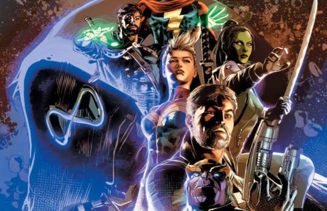 Who's Who in Marvel Infinity Wars - Cover