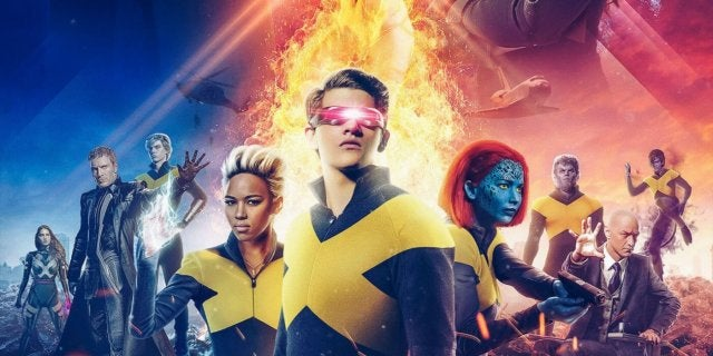 X-Men Dark Phoenix Fan Poster Marvel Studios Cinematic Universe