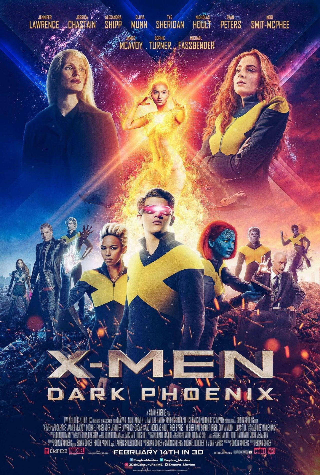 Image result for dark phoenix movie poster