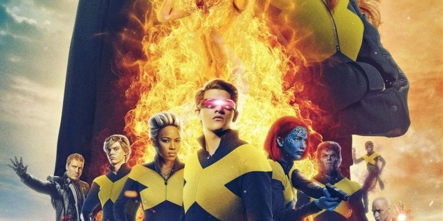 X-Men Dark Phoenix MCU Fan Poster