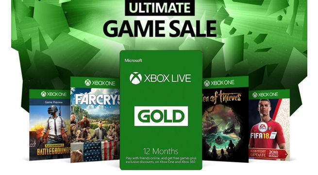 Xbox Live Gold 39 One Year Membership Deal Also Boosts Ultimate Game Sale Discounts