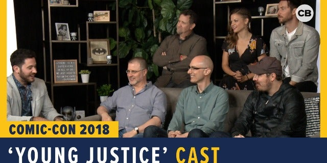 Young Justice - SDCC 2018 Exclusive Interview screen capture