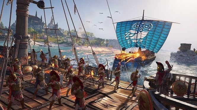 Ubisoft Explains How Assassin S Creed Odyssey S Recruitment System