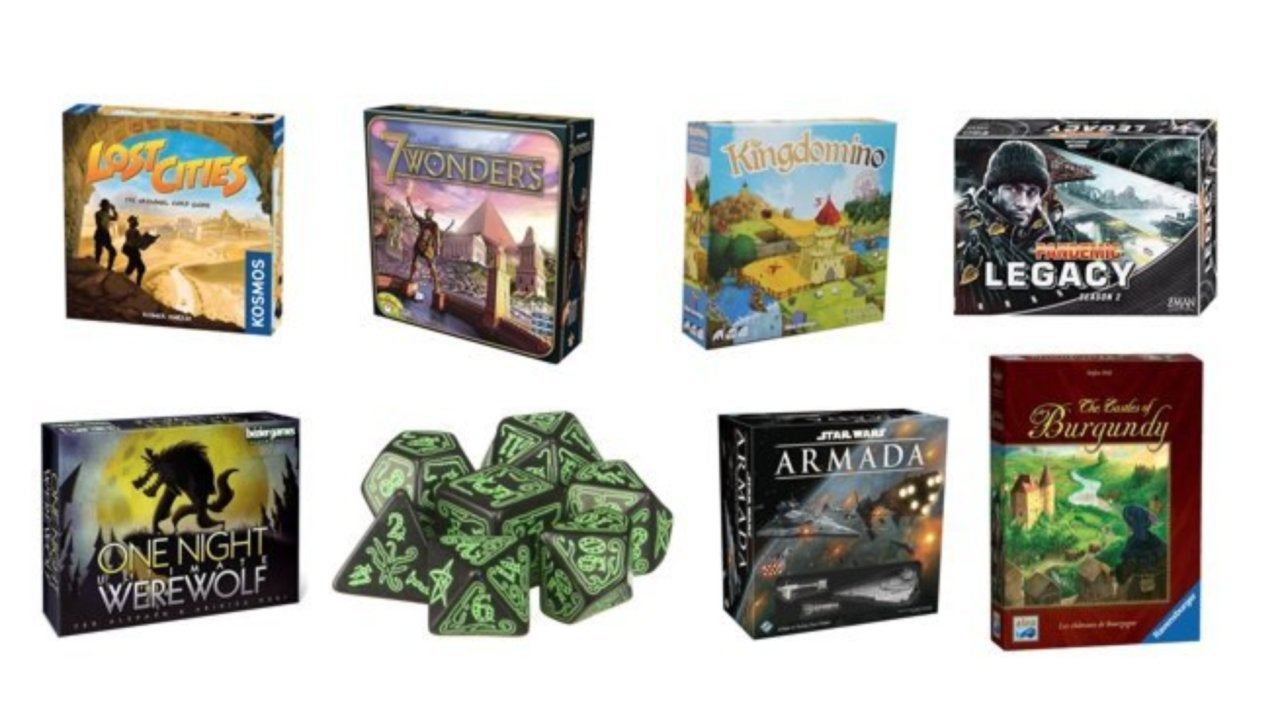 Amazon Launches a Massive One-Day Board Game Sale