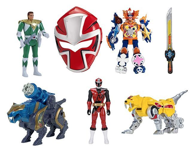 amazon celebrates the power rangers 25th anniversary with a one day sale