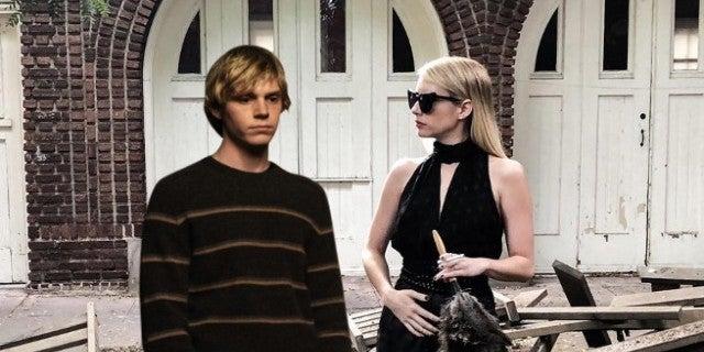 American Horror Story Season 8 Apocalypse - Evan Peters Emma Roberts