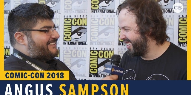 Angus Sampson - SDCC 2018 Exclusive Interview screen capture