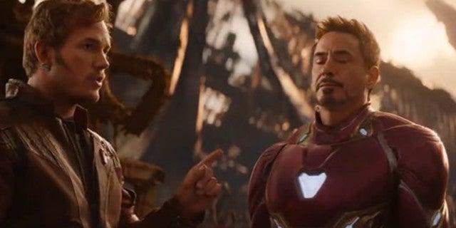 annoyed iron man infinity war