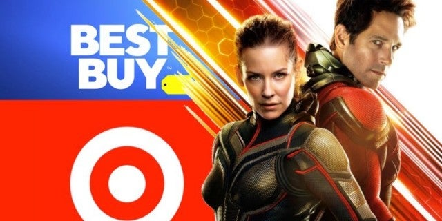 Ant-Man and the Wasp Blu-ray exclusives COMICBOOKCOM