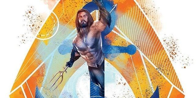 Aquaman Mighty Print