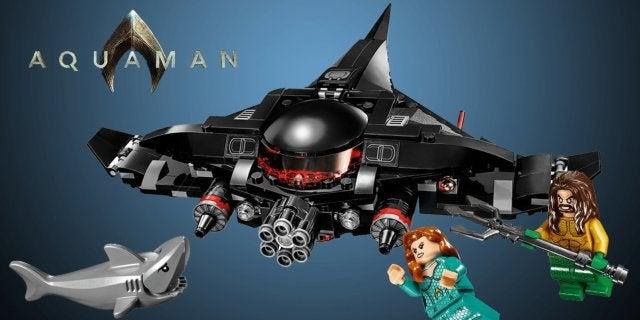 Aquaman Movie Black Manta's Submarine LEGO Set