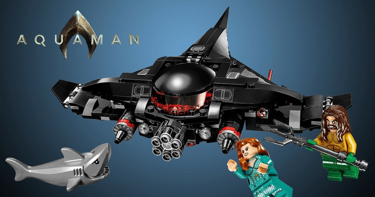 Aquaman Movie Black Manta's Submarine LEGO Set