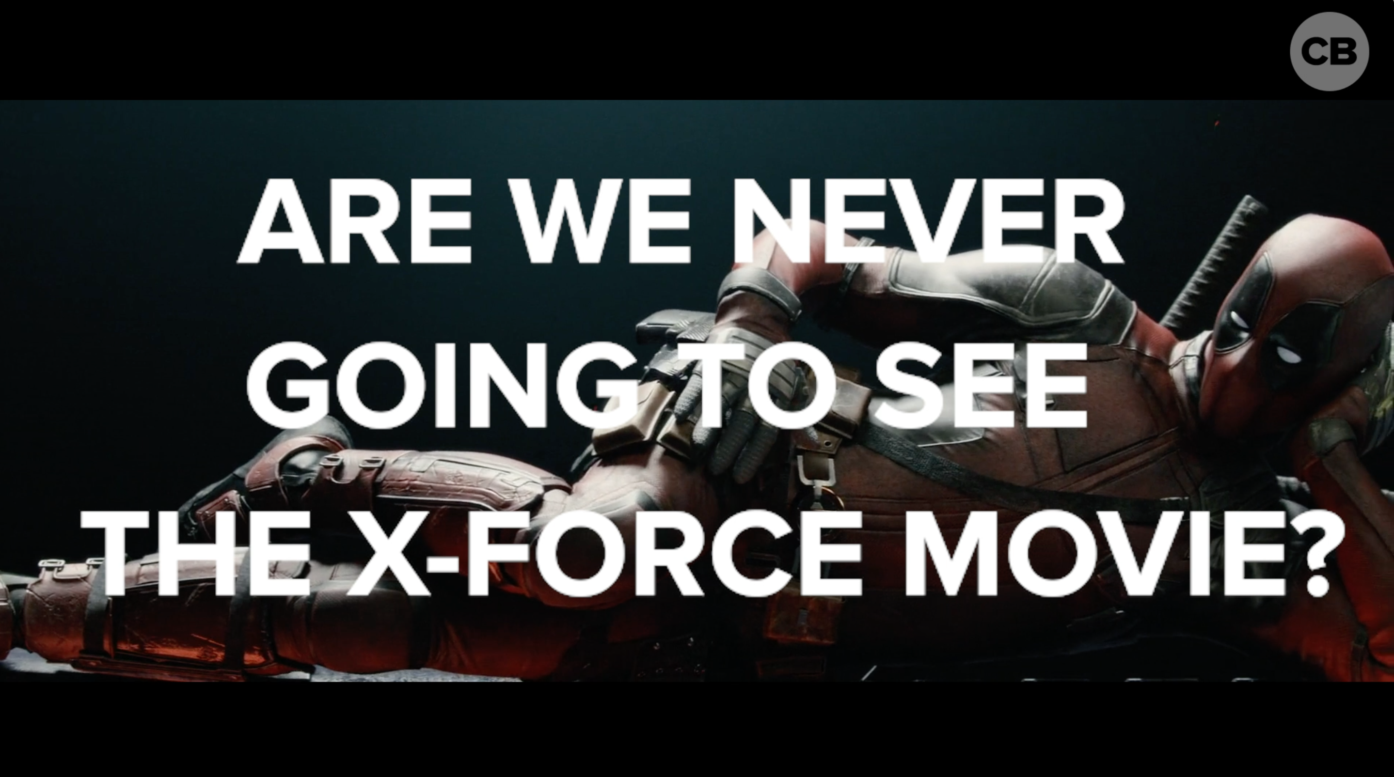 Are We Never Going to See the X-Force Movie? screen capture