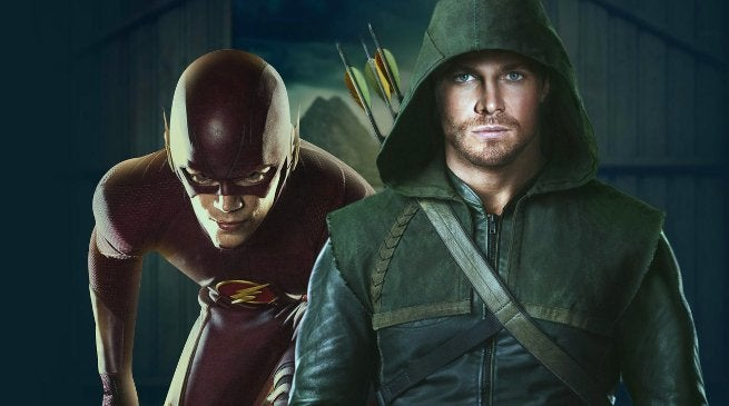 Arrow Flash Crossover Stephen Amell