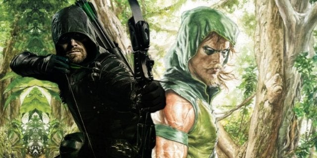 Arrow Green Arrow beard comicbookcom