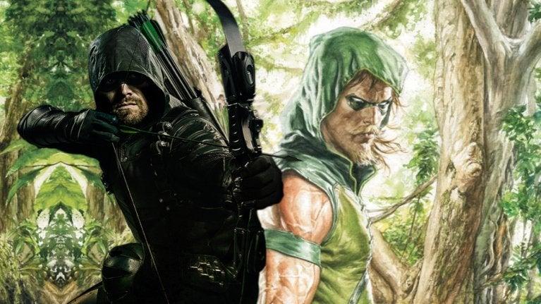 Arrow Green Arrow beard comicbookcom