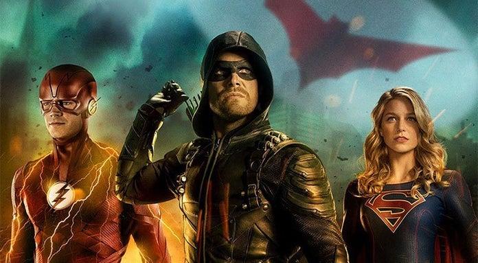 arrowverse crossover poster header