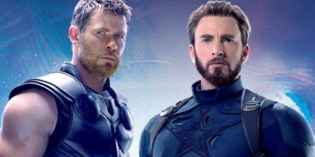 Avengers Infinity War Chris Evans Chris Hemsworth Arm Wrestling