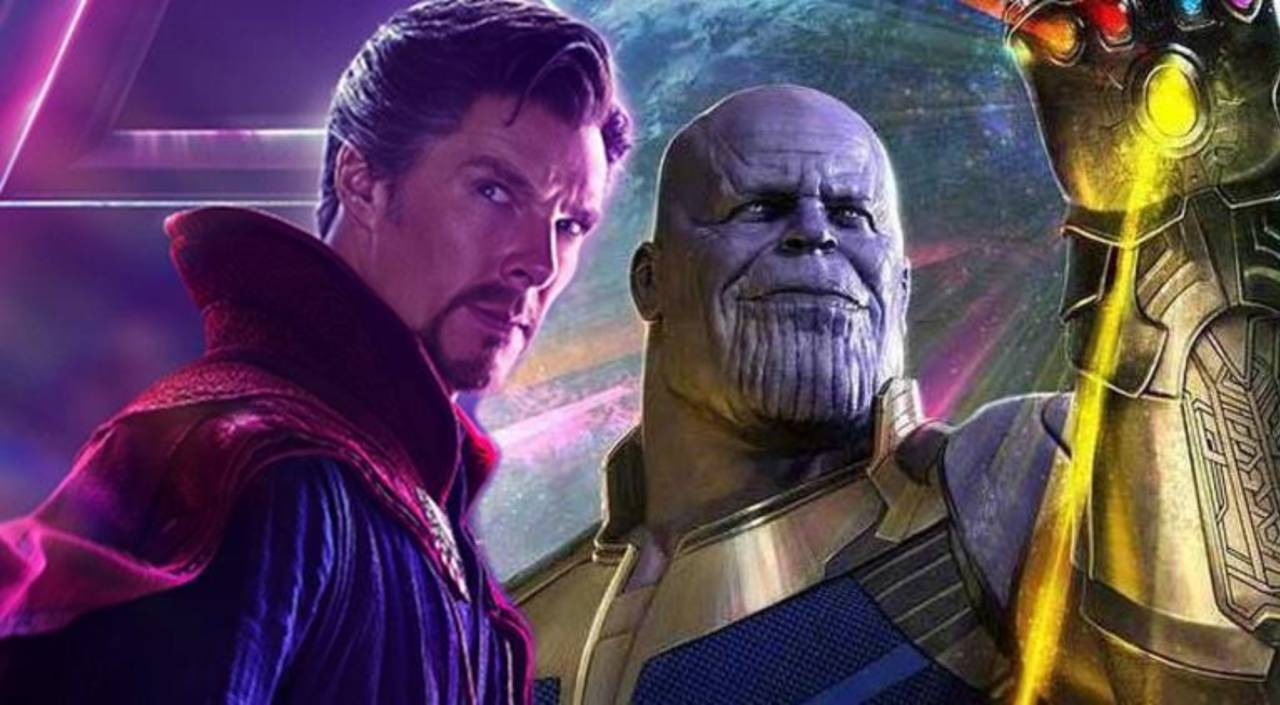 In a conversation with Dr. Strange, Thanos