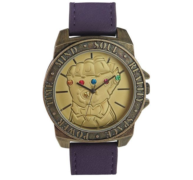 Avengers  Infinity War  Infinity Gauntlet Watch Brings Balance to Your  Outfit d0bfd2fd8eea