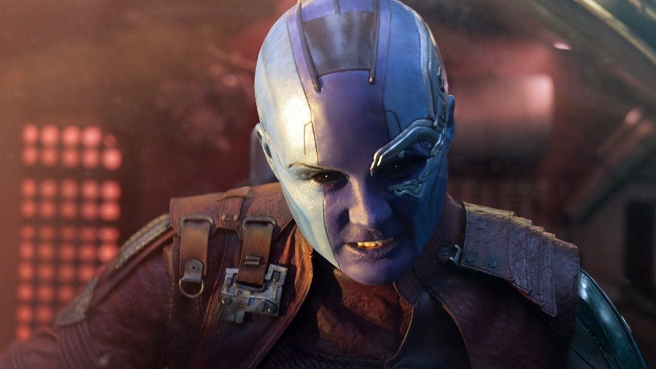 Avengers Infinity War Nebula Karen Gillan