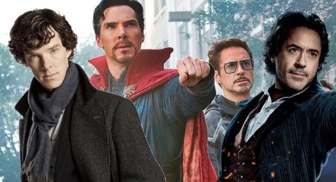 avengers infinity war sherlock holmes robert downey jr benedict cumberbatch