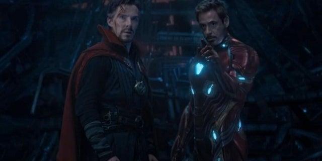 Avengers Infinity War Stark Strange