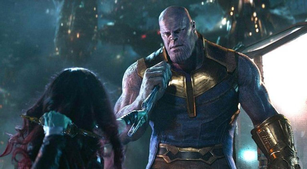 Image result for thanos gamora