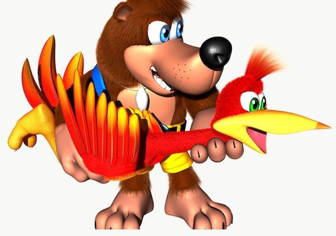 "Banjo Kazooie ""title ="" Banjo Kazooie ""height ="" 466 ""width ="" 665 ""class ="" 40 ""data item ="" 1131139 ""</figure> <p> Oh, those <i> Super Smash Bros. Ultimate </i> rumors. They can be all over the place. One minute, we're getting a suggestion that Rayman will join the game (which turned out to be fake); the next, we're hearing that the Belmonts from <i> Castlevania </i> are joining the party (and surprise, that one was actually true). </p> <p> But now, thanks to a 4chan post </p> <p> Eventhubs gjorde en detaljerad nedbrydning af disse indlæg, <b> </b> og baseret på hvad de har set, vi har fået flere forslag, som kunne være med i spillet. Here are the potential new fighters that could come to the game, either in the final roster or as downloadable content: </p> <p> <b> Gleek Club Chorus Kids (Rhythm Heaven) </b> </p><div><script async src="