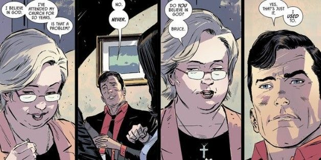 batman 53 god atheist