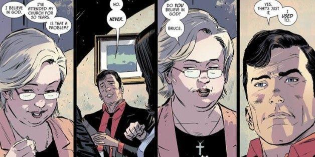 batman 53 god atheist