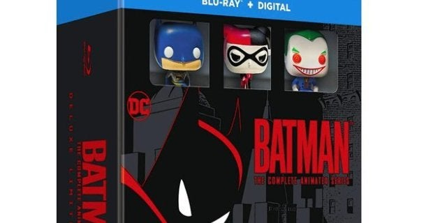 Save 29% On the 'Batman: The Complete Animated Series' Blu-ray Box Set