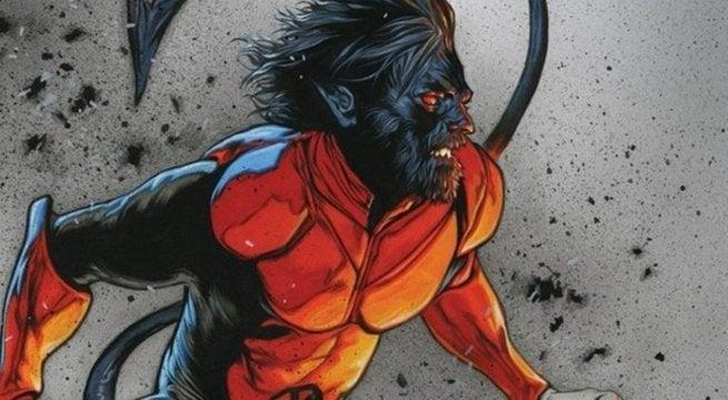 Bearded Nightcrawler Reactions Marvel Uncanny X-Men