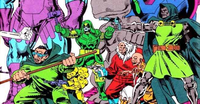 Best Fantastic Four Villains - Cover