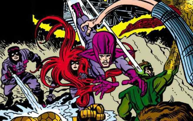 Best Fantastic Four Villains - Frightful Four