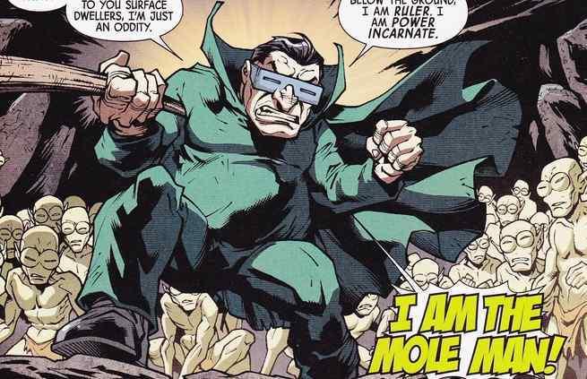 Best Fantastic Four Villains - Mole Man