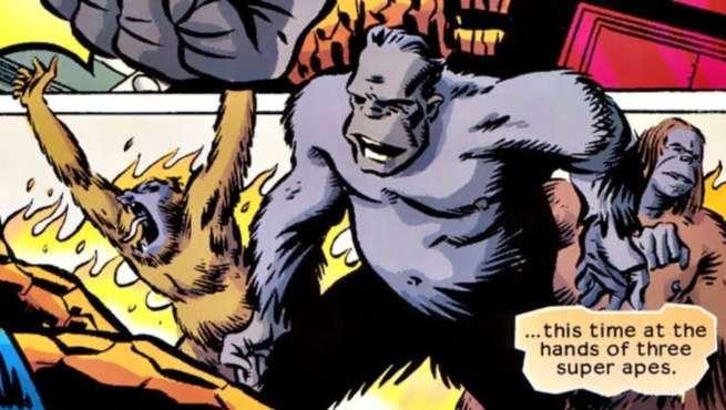 Best Fantastic Four Villains - Super-Apes