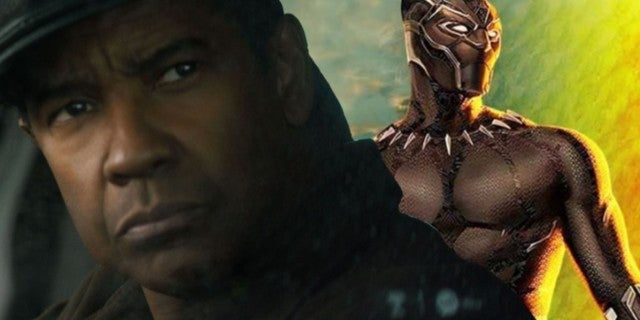 Black Panther Denzel Washington comicbookcom