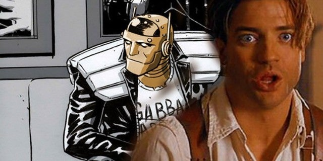 brendan fraser doom patrol reaction