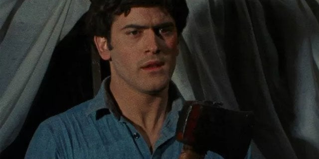 bruce campbell the evil dead 1981