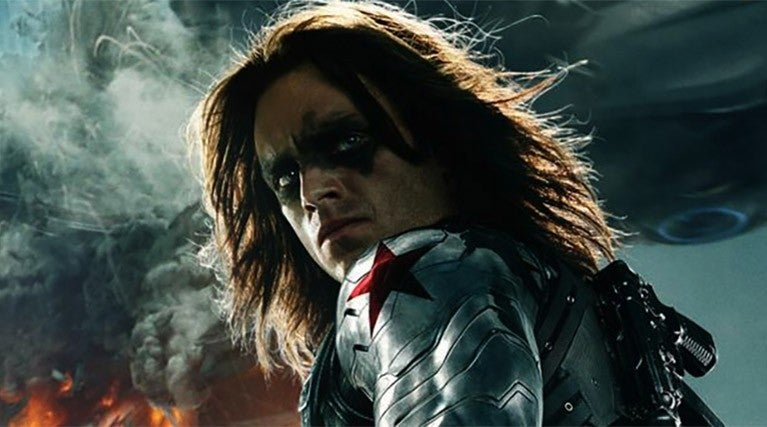 bucky barns winter soldier arm
