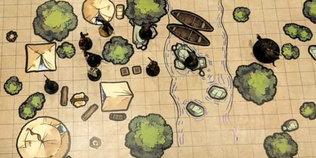 New Tabletop Tokens Make Building 'Dungeons Dragons' Encounter Maps a Breeze