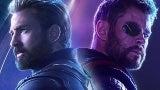 chris evans chris hemsworth avengers infinity war