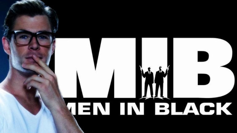 Chris Hemsworth Men in Black COMICBOOKCOM