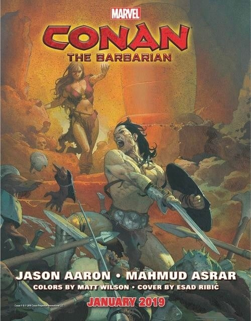 Marvel Announces 'Conan The Barbarian' Release Date